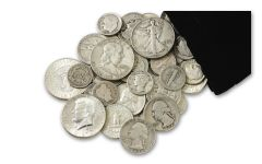 "1892–1964 Half-Pound Bag of ""Classic"" U.S. Silver"