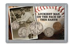1939 Lou Gehrig Luckiest Man 5-pc Set G–VG