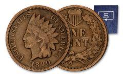 29Pc 1880-1908 1 Cent Indian Head Set G/VG w/Album
