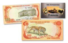 2PC NORTH/SOUTH VIETNAM CURRENTCY SET