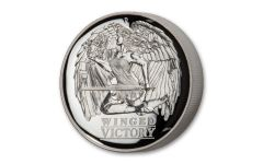 2021 Australia $1 1-oz Silver Winged Victory High Relief Proof