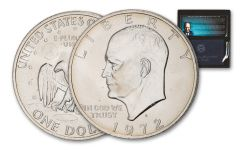 "1971–1974 Eisenhower Dollar ""Blue Ike"" BU"