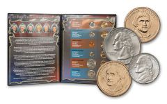 1971–2015 Ultimate President 12-Coin Collection
