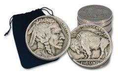 1913–1938-S Buffalo Nickel Quarter-Pound Bag