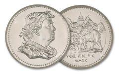 2020 Intaglio Mint 2-oz Silver Elephant Design Ancient Tribute Series Type III Trump Ultra High Relief Round BU