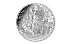 2020 Niue $1 1-oz Silver Queen Elizabeth II Long May She Reign Proof
