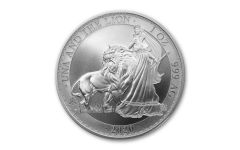 2020 Saint Helena £1 1-oz Silver Una & the Lion BU