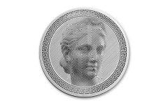 2020 Tokelau $5 1-oz Silver Icon Proof-Like Coin