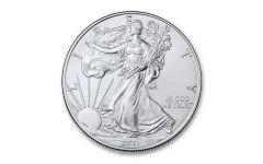 2021 $1 1-oz Silver Eagle T1 BU