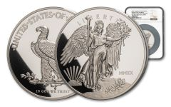 2020 Winged Liberty Ultra High Relief 5 oz Silver Proof Medal NGC GEM PF UC