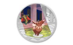 2020 Niue Disney Fantasia - Dance of Hours 1 oz Silver Colorized Proof $2 Coin GEM Proof OGP