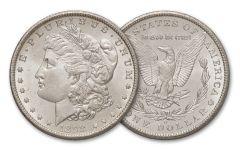1898-O Morgan Silver Dollar From Mint Bag BU 10-Coin Pack