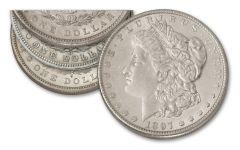 1897-PSO Morgan Silver Dollar 3-pc Set XF