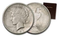 1922–1935 Peace Silver Dollar 20-pc Set VG–VF w/Album