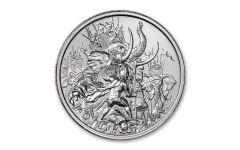 2020 Intaglio Mint 2-oz Silver Molon Labe Type IV Round BU