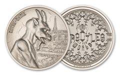 Intaglio Mint 2-oz Silver Gargoyle Type I Ultra High Relief Round BU