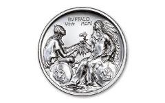 Intaglio Mint 2-oz Silver Pan-American Expo Tribute Medal BU