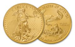 2021 $50 1-oz Gold American Eagle Type 1 BU