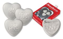 PAMP 30-gm Silver Sweethearts Reverse Proof 3-pc Set