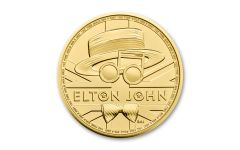2021 Great Britain £100 1-oz Gold Legends of Music: Elton John BU