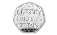2020 Great Britain 50 Pence 8-gm Silver British Diversity Proof