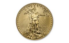 2021 $10 1/4-oz Gold American Eagle Type 1 BU