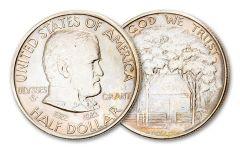 1922-P Grant Commemorative Silver Half Dollar Star AU