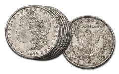 1878 Morgan Silver Dollar 6-Pc Type Set XF