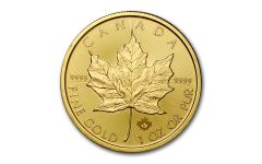 2021 Canada 1 oz Gold Maple Leaf $50 Coin GEM BU