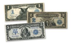 1899 Series Silver Certificate 3-pc Set VF