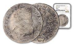 1787 France Silver Ecu NGC AU