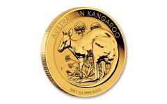 2021 Australia $100 1-oz Gold Kangaroo BU