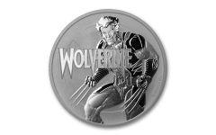 2021 Tuvalu $1 1-oz Silver Marvel™ Wolverine BU