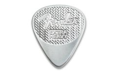 PAMP 5-gm Silver Fender Playable Guitar Pick Reverse Proof