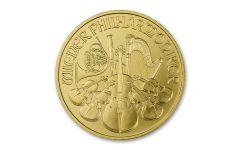 2021 Austria €100 1-oz Gold Philharmonic Gem BU