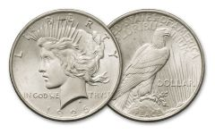 1926-D Peace Silver Dollar BU
