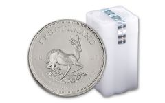 2021 South Africa 1-oz Silver Krugerrand BU – Roll of 25