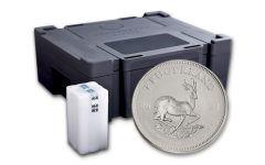 2021 South Africa 1-oz Silver Krugerrand BU – Box of 500
