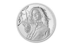 2020 Niue $2 1-oz Silver Harry Potter Classics Hermione Proof