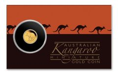 2021 Australia $2 1/2-gm Gold Mini Kangaroo Proof in Card