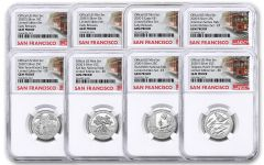 2020-S United States Mint Limited Edition Silver Proof Set NGC Gem Proof Early Releases w/Trolley Label