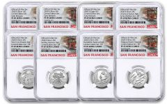 2020-S United States Mint Limited Edition Silver Proof Set NGC PF69UC Early Releases w/Trolley Label