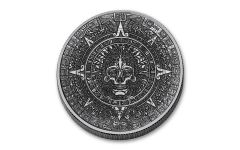 1-oz Silver Cursed Aztec Round