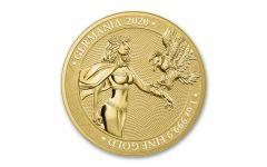 Germania Mint 2020 1 oz Gold Germania BU OGP