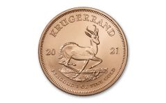2021 South Africa 1-oz Gold Krugerrand Gem BU
