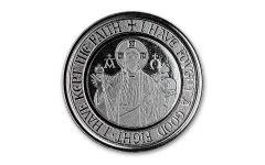 2021 Samoa 1 Tala 1/2-oz Silver Alpha & Omega Proof-Like