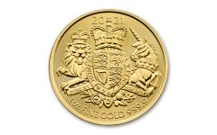 Great Britain £100 1-oz Gold Royal Arms Brilliant Uncirculated