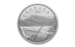 2020 Canada $10 1/2-oz Silver O Canada Great Outdoors Matte Gem Proof