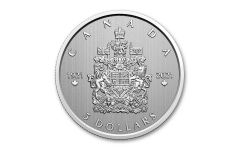 Canada 2021 Moments to Hold - Arms of Canada 1/4 oz Silver Modified Specimen $5 Coin GEM Specimen OGP