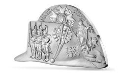 2021 France €10 22.2-gm Silver Napoleon Bicorne Hat Proof